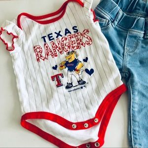 Other - Texas Ranger Onesie! Perfect condition!